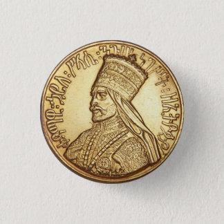 Haile Selassie Empire OF Ethiopia Rastafari button