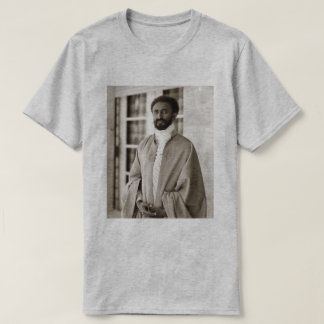 Haile Selassie - HIM - Rastafari - Rasta shirt