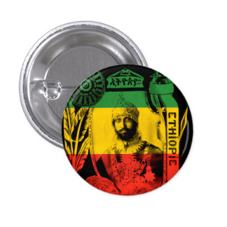 Haile Selassie His Imperial Majesty Buttons