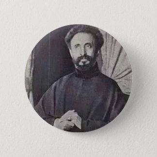 Haile Selassie I 2 Inch Round Button