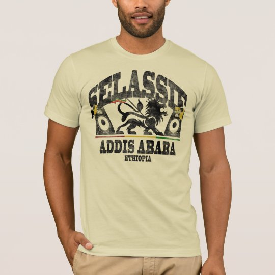 Haile Selassie I Addis Ababa Sound System Vintage T-Shirt