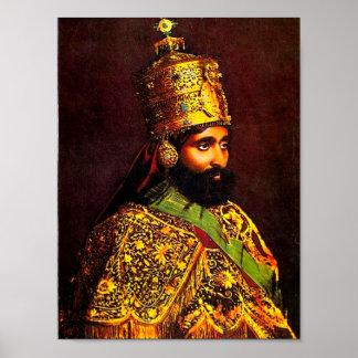 Haile Selassie I Coronation Poster