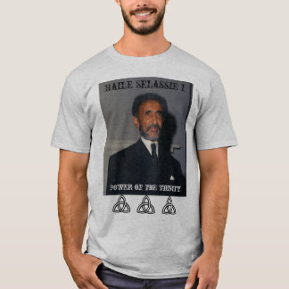 Haile Selassie I Power of the Trinity T-Shirt