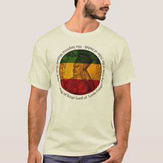 Haile Selassie King of Kings T-shirt