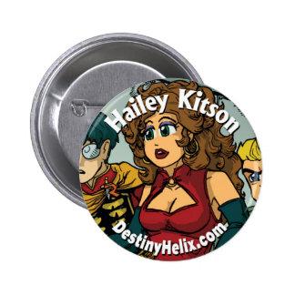 "Hailey Kitson ""Dark Disguise"" button"
