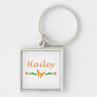 Hailey (Orange Butterfly) Keychain