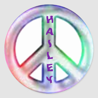 Hailey Peace Stickers