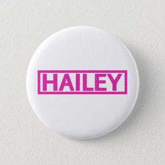 Hailey Stamp 2 Inch Round Button