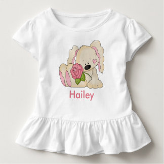 Hailey's Personalized Bunny Toddler T-shirt
