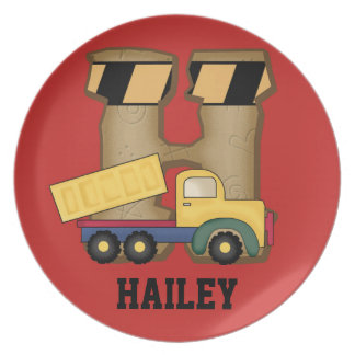 Hailey's Personalized Gifts Plate