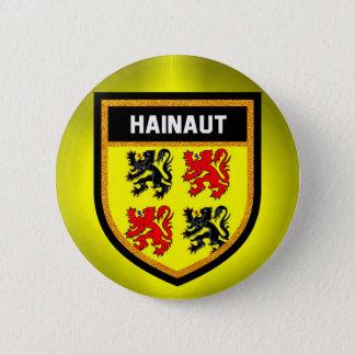 Hainaut Flag 2 Inch Round Button
