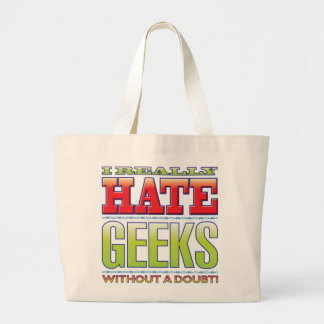 Haine de geeks sacs en toile