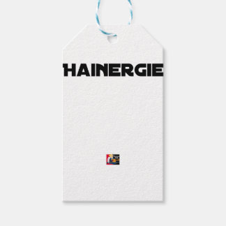 HAINERGIE - Word games - François City Gift Tags