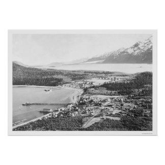 Haines Alaska Fort Seward 1912 Poster