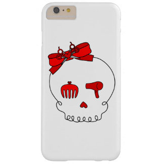 Hair Accessory Skull (Bow Detail Red) Barely There iPhone 6 Plus Case