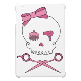 Hair Accessory Skull & Scissor Crossbones iPad Mini Cases