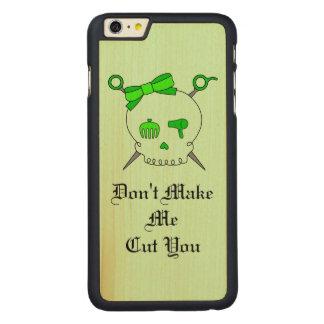 Hair Accessory Skull & Scissors (Lime Green #4)