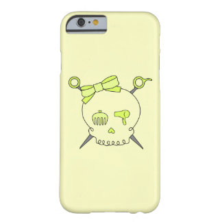 Hair Accessory Skull & Scissors (Yellow Version 2) Barely There iPhone 6 Case