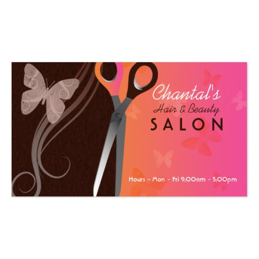 Hair Salon Business Cards Joy Studio Design Gallery