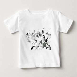 Hair and Beauty Stylist Customers Baby T-Shirt