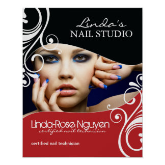 Hair and Nail Salon Poster