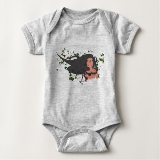 Hair Baby Bodysuit