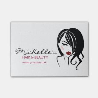 Hair & Beauty salon branding Post-it® Notes