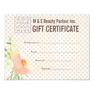 Salon certificate templates gifts salon certificate templates hair beauty salon gift certificate template yelopaper Image collections