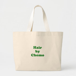 Hair by Chemo Large Tote Bag