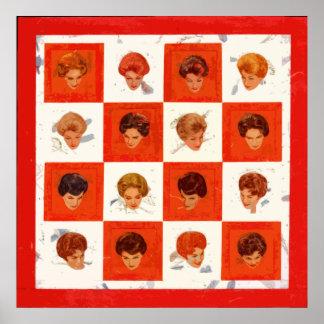 Hair Color Bingo Poster