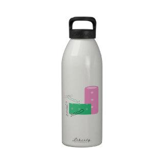 Hair Curlers Reusable Water Bottles