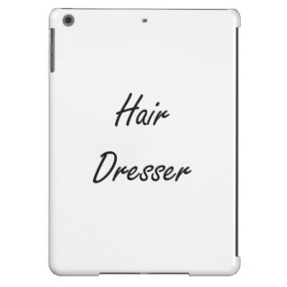 Hair Dresser Artistic Job Design Case For iPad Air