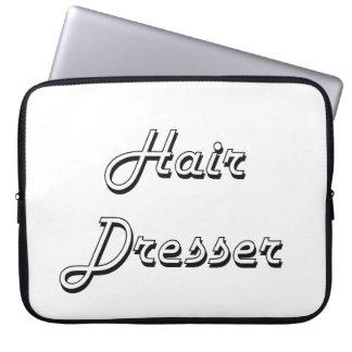 Hair Dresser Classic Job Design Laptop Sleeves