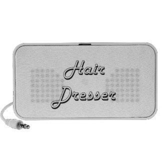 Hair Dresser Classic Job Design iPhone Speaker