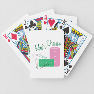 Hair Dresser Bicycle Playing Cards