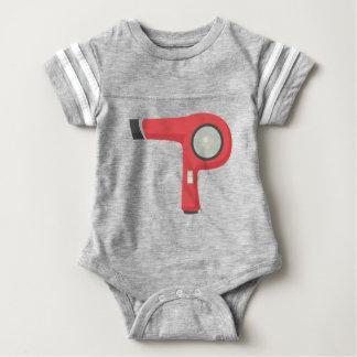 Hair Dryer Baby Bodysuit