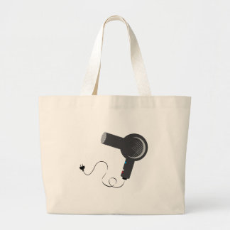Hair Dryer Large Tote Bag