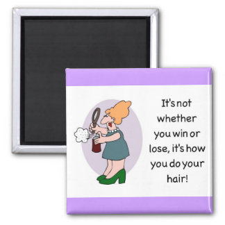 hair merchandise magnet