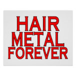 Hair Metal Forever Poster
