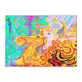 Hair of the Divine Universe Ideal Medium Size Canvas Print