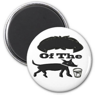 Hair Of The Dog (Drink) 2 Inch Round Magnet