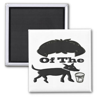 Hair Of The Dog (Drink) Square Magnet