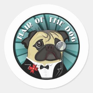Hair Of The Dog merch Round Sticker