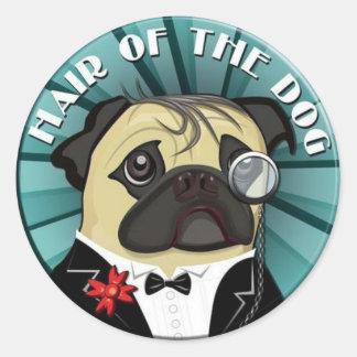 Hair Of The Dog merchandise Round Sticker