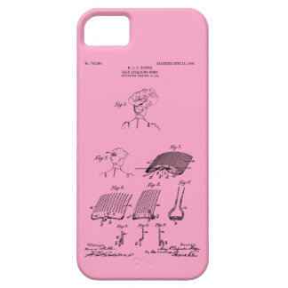 Hair retaining comb - Mary Carpenter, Inventor iPhone 5 Covers