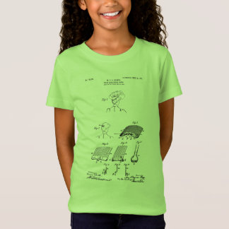 Hair retaining comb - Mary Carpenter, Inventor T-Shirt