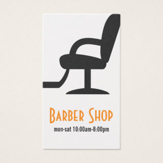 Hair Salon Barber Shop Beauty Business Card