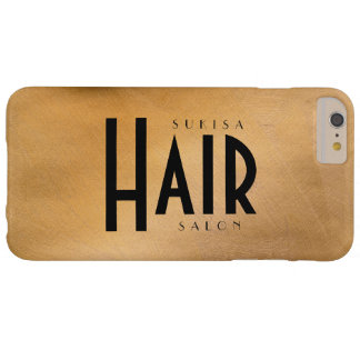 Hair Salon Copper Metallic Barely There iPhone 6 Plus Case