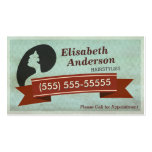 Hair Salon Hairstylist - Vintage Appointment Card
