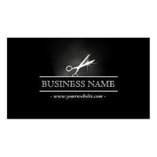 Hair Salon Scissor in the Dark Business Card